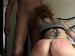 Facefucked mature submissive buttfucked