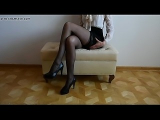 legs stockings high heels more PornWebCamZ.com