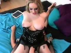 Girls bang fellows asshole with huge strapon dildos and burs