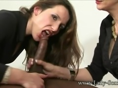 Sonia and her friend take turns with BBC