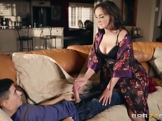 milf cytherea has a surprise for his cock