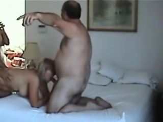 Two couples fuck on camera