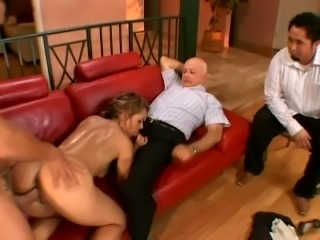 Fantastic busty married woman sweats hard during sex with a stud