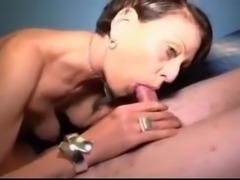 Hot Spanish Mommy with Young Lover