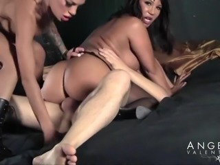 Superb threesome with Angelina Valentine and Ava Devine