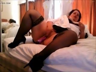 Nice bbw masturbation  - HookUp19.com