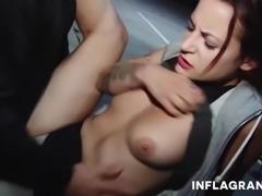 Public German Sex in parking lot