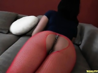 Piercings senorita Stella Smalls with big ass and shaved snatch satisfies...