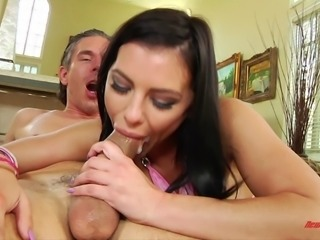 Adriana Chechik enjoying a thick cock deep in her fuck hole