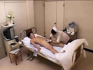 Lustful Oriental nurse seizes the chance to take a dick in