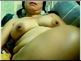 Busty Asian Mom Masturbating - Watch More At www.asianslive.tk