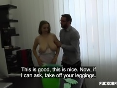 Suzie Sun - BUSTY CLEANING LADY CAUGHT WATCHING PORN