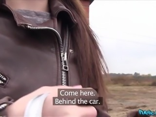 czech cutie picked up and offered a bunch of cash for a blowjob