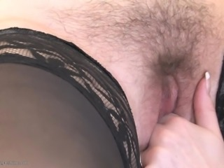 Skinny small tits lesbian hairy pussy fingered deeply