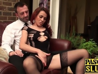Old tasty bitch has rough fuck session with a freaky guy