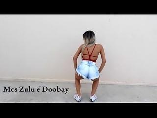 Tain&aacute_ costa desafio joga bunda Mcs Zulu e Doobay 2017