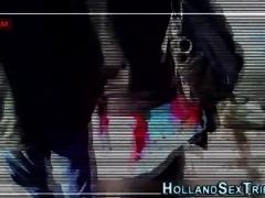 European hooker railed