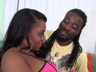 WANKZ- Samone Taylor Enjoys Working Big Black Ass Down Monst