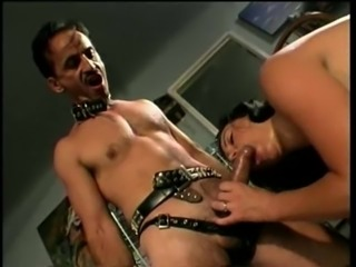 Slave smashing cowgirl tight anal hardcore in femdom porn