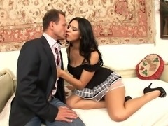 Kira Queen is in need of a handsome man's fat prick