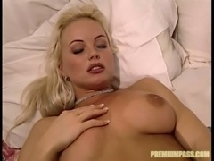 Fucking hot blonde Sylvia Saint gets her cunt licked and fucked by kinky BBC