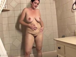 Ryan in bathtub