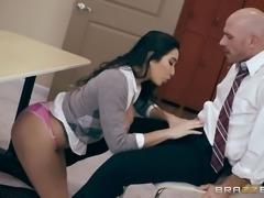 this busty schoolgirl loves sucking dick