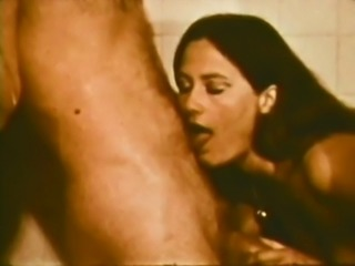Vintage: Couple have erotic sex