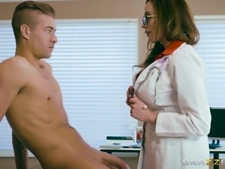 Ariella examines Xander, convincing him, that sucking his cock is how she...