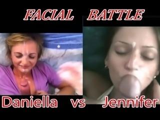 Daniella vs Jennifer