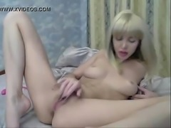 Blonde amateur camgirl cumming - watch more at www.mylivecams.tk