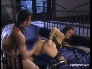 Busty hottie Maria Bellucci always keeps her panties on during sex