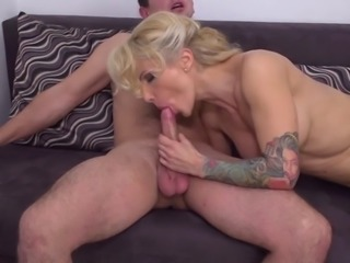Hot milf and her younger lover 713