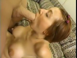 Alisha blowjob facefuck & swallow
