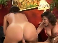 Big ass mom ass lick and cumshot