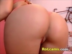 Awesome blonde with nice ass and tits - sexycams4u.com - 100% FREE