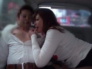 Subtitled voluptuous Japanese Haruki Satou public foreplay