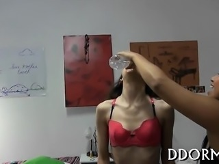Sultry darlings are getting their succulent pussies devoured