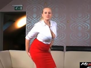 Audrey Argento scores a big, fat cock