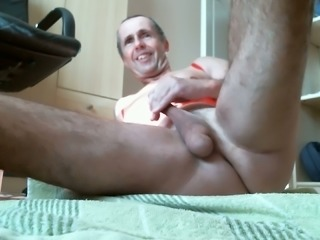 This horny pervert intentionally prolapses his rectum on cam