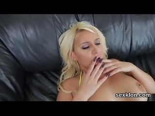 Pornstar doll gets her butt hole banged with hefty penis
