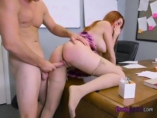 College Babe Skyla Novea Gets Bent Over By Prof