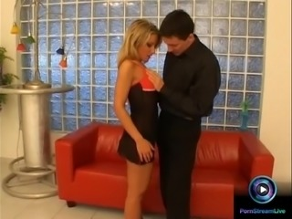 Hot Camile and Steve amazing fuck at the couch
