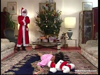 "Santa ""Gangbang"" Claus with Nathalie"