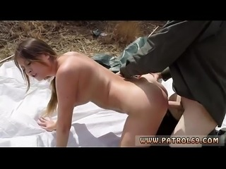 Police double penetration Anal for Tight Booty Latina