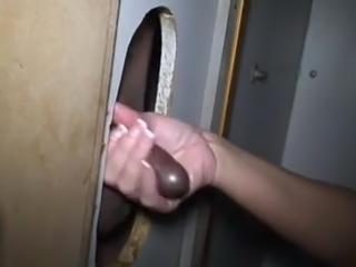 Gloryhole premature ejaculation
