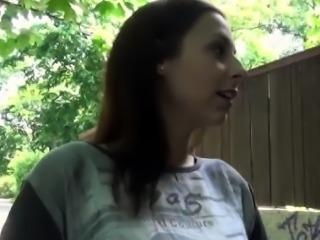 Hot Czech babe Antonia Sainz convinced to fuck for cash