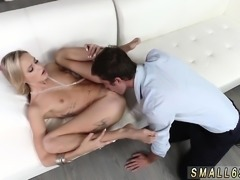 Teen stuck first time Tiniest In The Agency