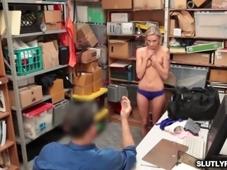 Emma Hixs shaved pussy railed like a spread eagle
