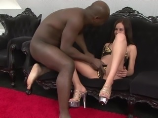 she never had sex with a black man before she wants to become an adult pornstar